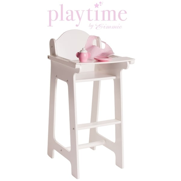 american girl doll high chair chairs kitchen shop eimmie 18 inch furniture with accessories 22 h x 11 d 10 5 w free shipping on orders over 45 overstock com 14338834