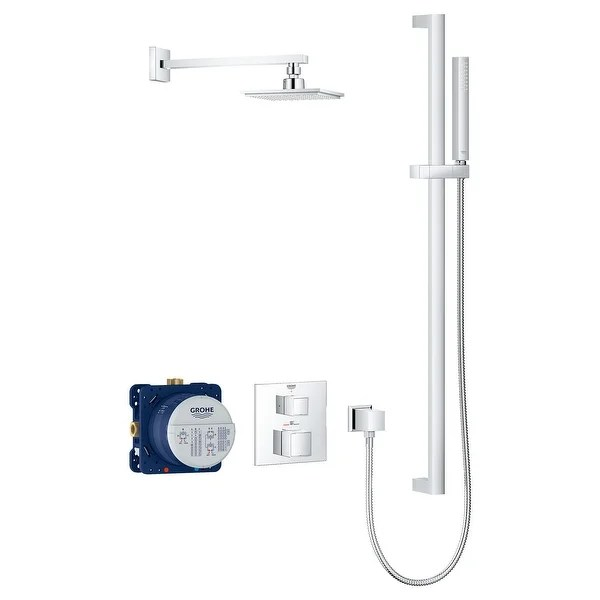 Shop Grohe 34 747 Grohtherm Thermostatic Shower System