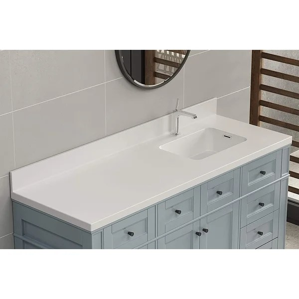 https www overstock com home garden true solid surface vanity counter top 30642655 product html