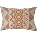 The Curated Nomad Houndsridge Geometric Burnt Orange Throw Pillow Overstock 30417042