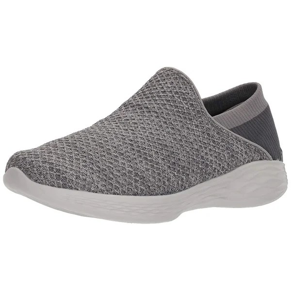 Shop You By Skechers Women?S You Slip-On Shoe.Charcoal.9.5 M Us - Overstock - 25593399