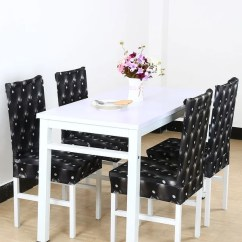 Chair Seat Covers Wedding Norfolk Shop 3d Pattern Spandex Stretch Short Dining Slipcovers
