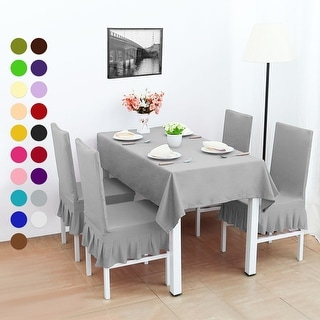 stretch dining chair covers best affordable office chairs shop 4pcs room seat protector free shipping on orders over 45 overstock com 22650701