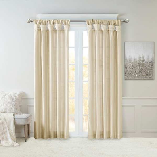 buy off white curtains drapes online