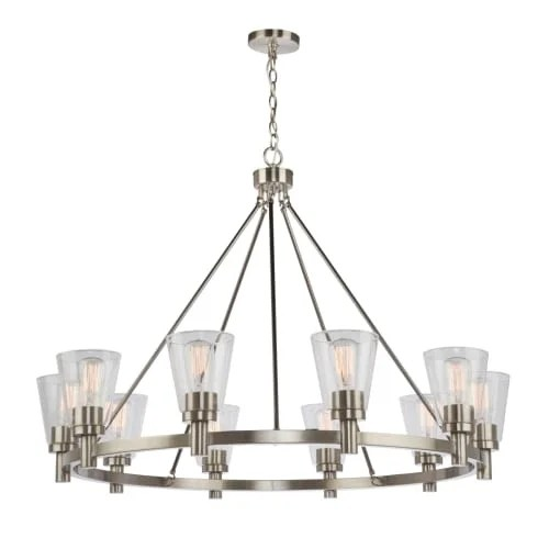 Artcraft Lighting Ac10760 Clarence 10 Light 42 Wide Chandelier Free Shipping Today 23433449