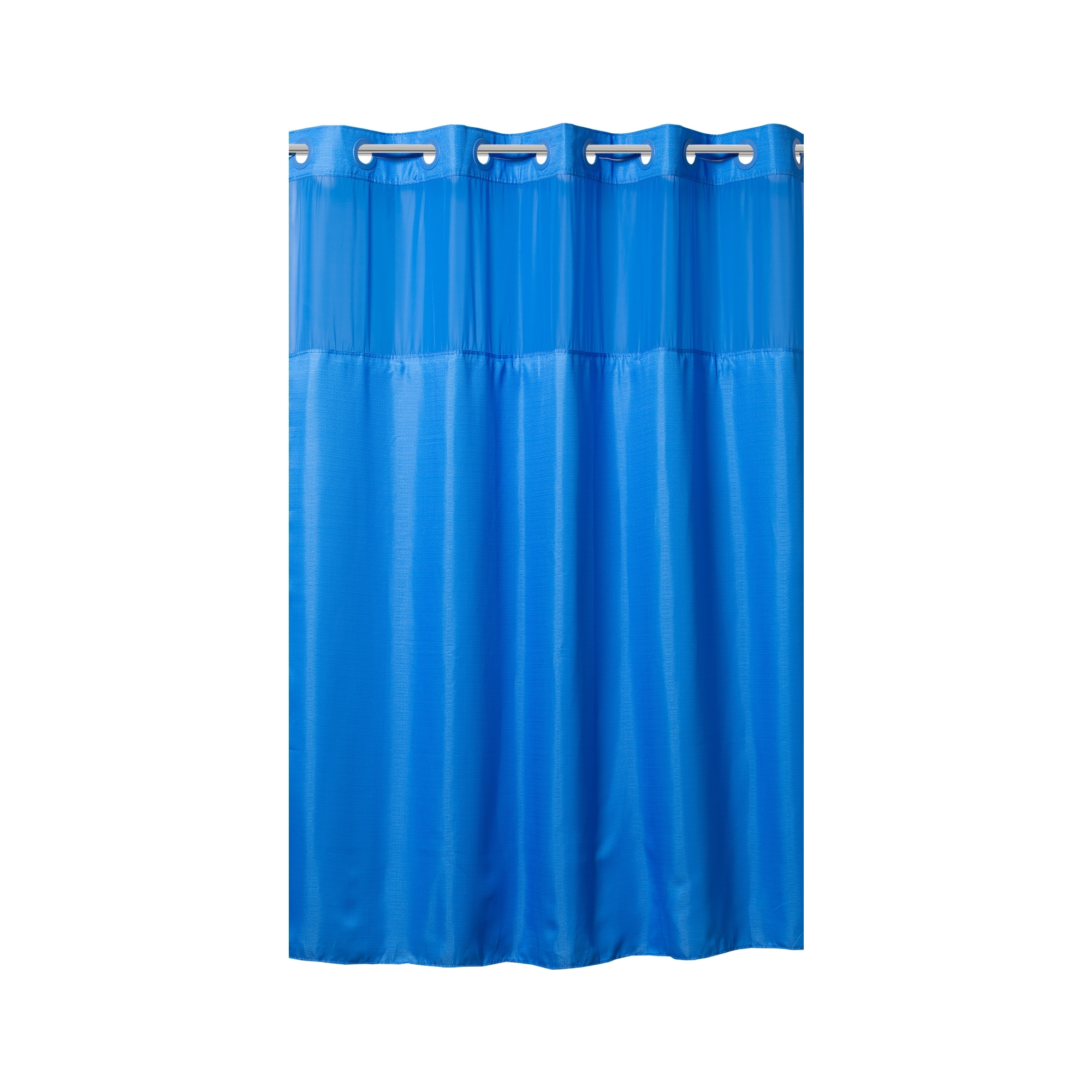hookless kids high point linen shower curtain with fabric liner