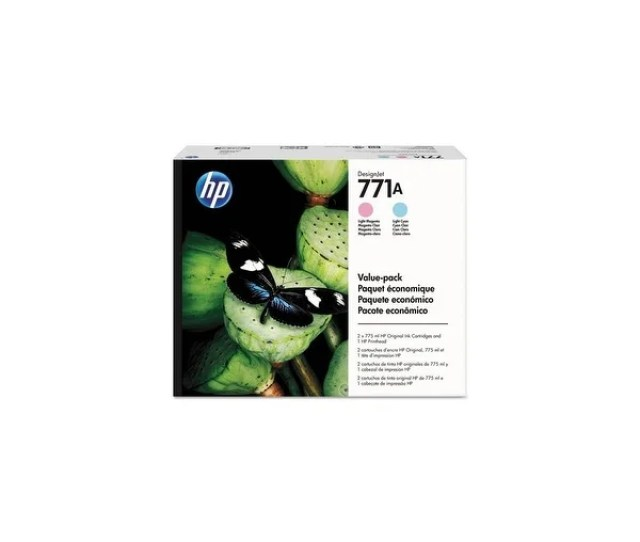 Hp 771a Printhead Ink Cartridge Value Pack Single Pack Printhead With Ink Cartridge