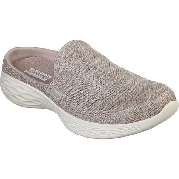 Shop Skechers Women's YOU Radiate Mule Taupe - Free Shipping Today - Overstock - 25644702