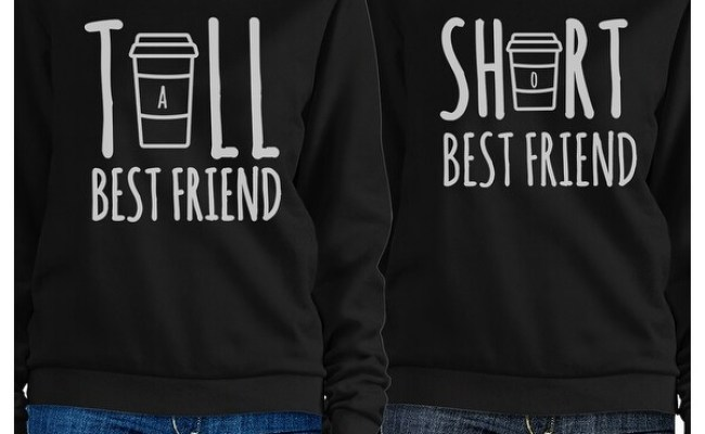 Shop Tall Short Cup Bff Matching Sweatshirts Gift For Best