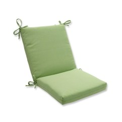 Lime Green Chair Pads Backless Yoga Shop 36 5 Solid Tweed Outdoor Patio Cushion With Ties