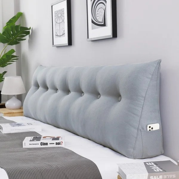 wowmax bed rest wedge bolster pillow