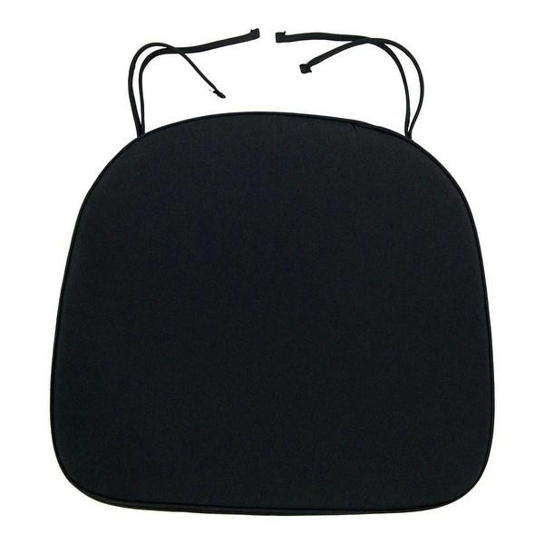 buy black chair cushions pads online