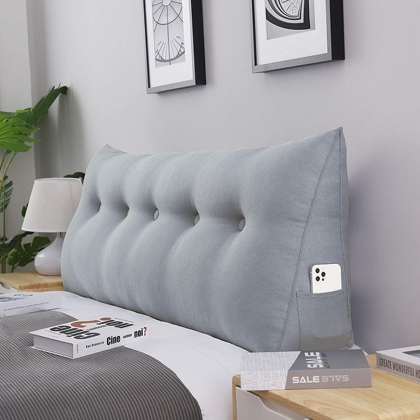 wowmax bed rest bolster wedge back