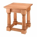 End Tables Unfinished Pine Sofa End Table Kit Renovator S Supply