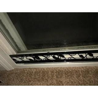 sliding door security bar adjustable