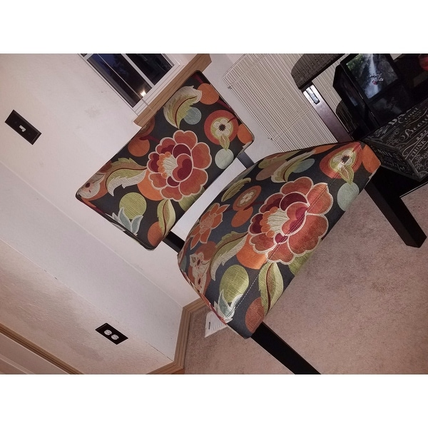 floral print accent chairs bright starts ingenuity high chair shop powell bianca free shipping today overstock com 9384585