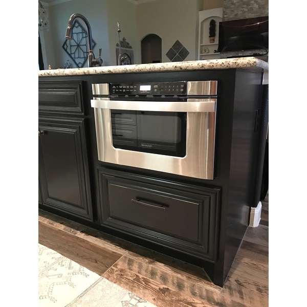 inch microwave drawer