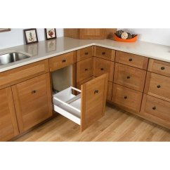 Blum Kitchen Bins Stonewall Jam Shop Rev A Shelf Twcsc 21dm 2 Series Bottom Mount Double Bin