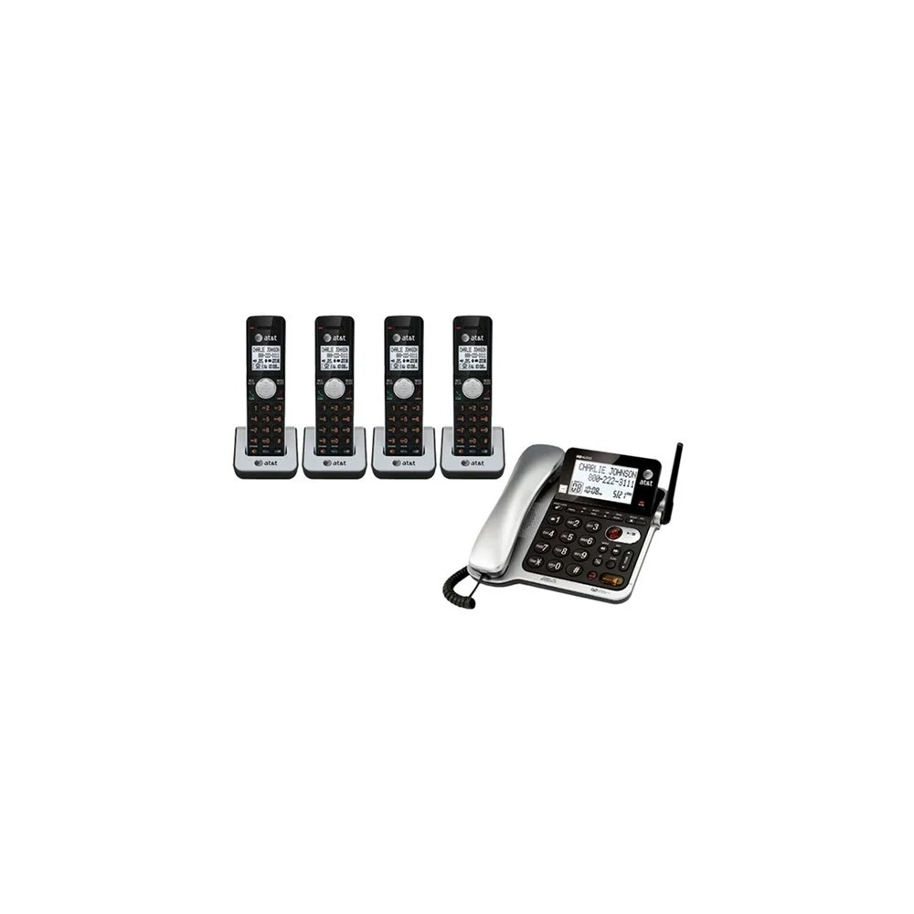 Shop AT&T CL84402 1.9GHz Corded / Cordless Phone Combo W