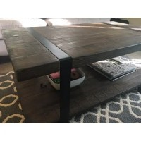 Modesto Natural Rustic Coffee Table - Free Shipping Today ...