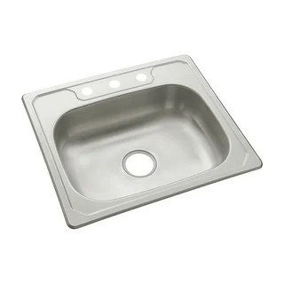 kohler kitchen sink rustic round table buy sterling by sinks online at overstock com our 14631 3 middleton 25 single basin drop in stainless steel with