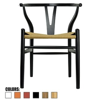 wooden restaurant chairs with arms sheepskin chair covers recliners buy wicker kitchen dining room online at overstock com 2xhome black modern wood back arm armchair hemp seat for home