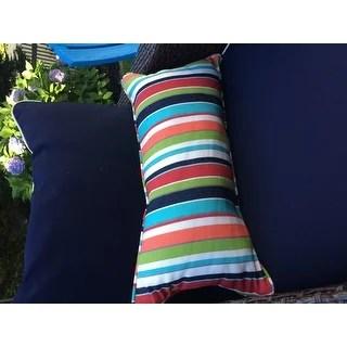 Shop Multicolor Stripe Corded 12 x 24 inch Indoor Outdoor