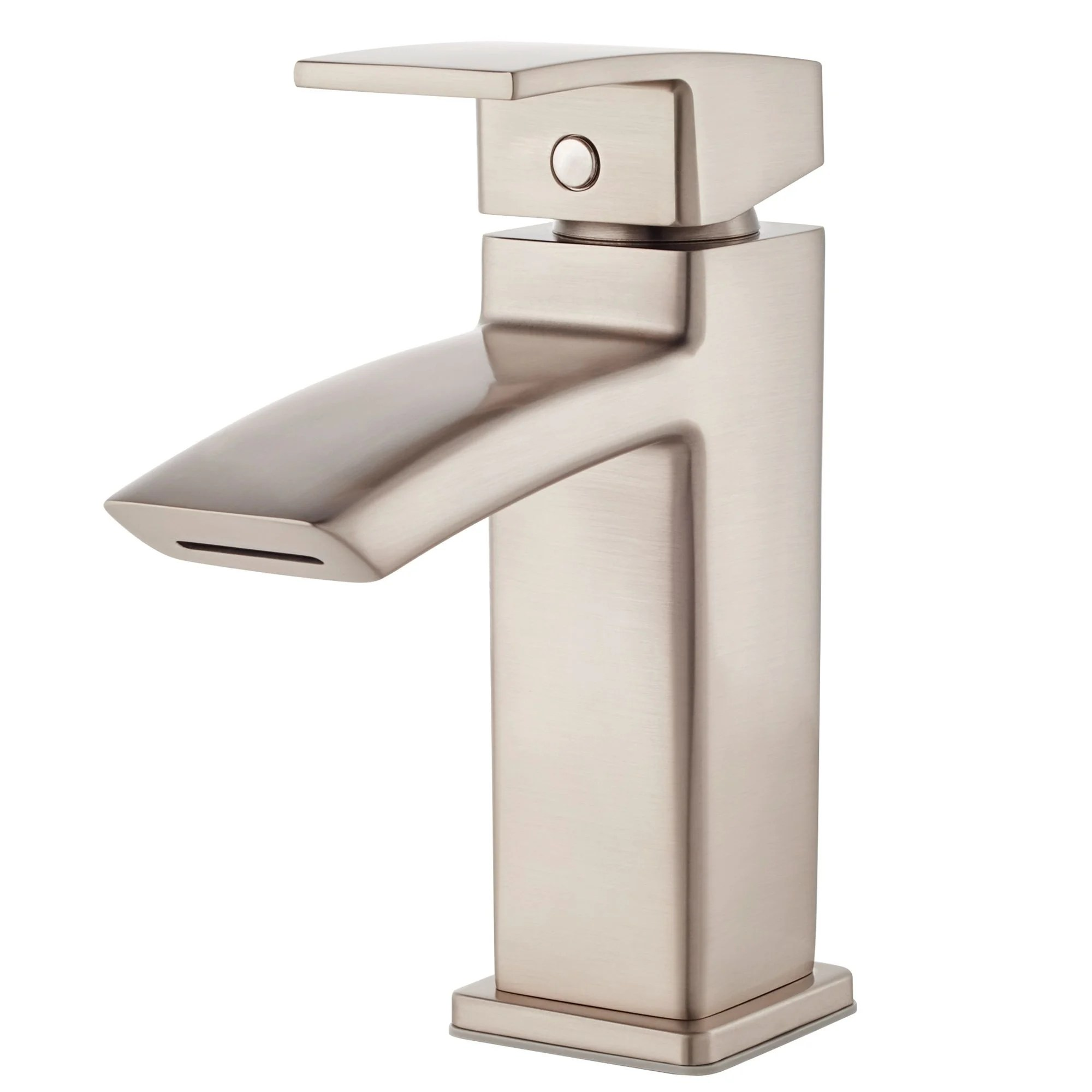pfister lg42 df1 kenzo single hole bathroom faucet with metal pop up
