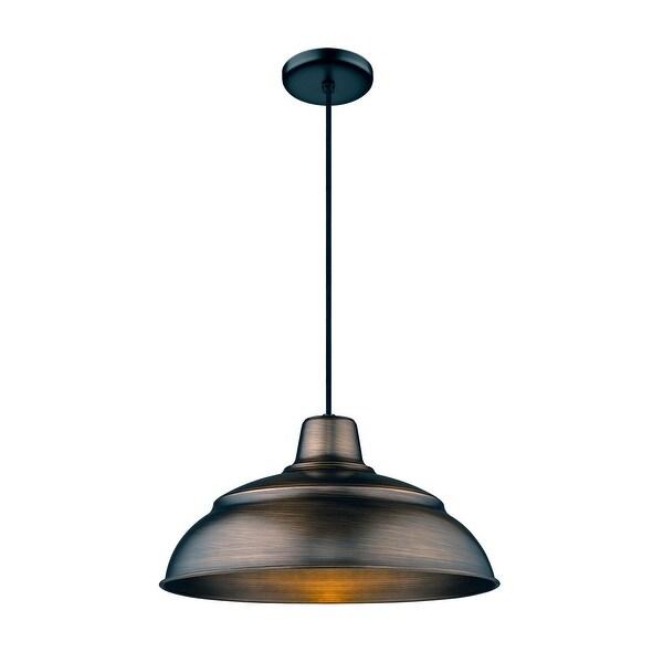 r series single light 17 wide pendant