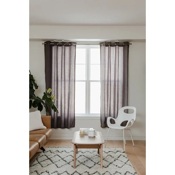 umbra cappa single curtain rod 1 1 4