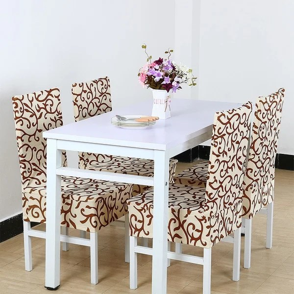 decorative chair covers for sale full recline zero gravity with massage technology shop 4pcs elastic short slipcovers dining room
