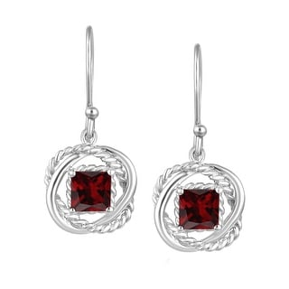 Shop Sterling Silver with Natural Garnet and White Topaz