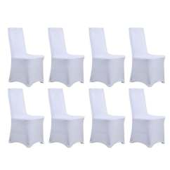 Chair Covers Universal For Birthday Party Shop Stretch Dining Cover 8 Piece Set Free