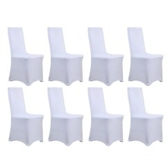 Stretch Chair Covers Office Cushion Memory Foam Shop Universal Dining Cover 8 Piece Set Free