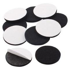 Chair Felt Pads Shermag Rocking Shop Household Self Adhesive Protect Furniture Mats Black 30mm 10pcs Free Shipping On Orders Over 45 Overstock Com 17650495