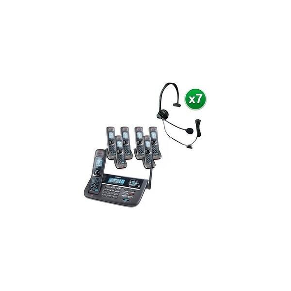 Shop Uniden DECT4086-7 with Headset DECT 6.0 2 Line