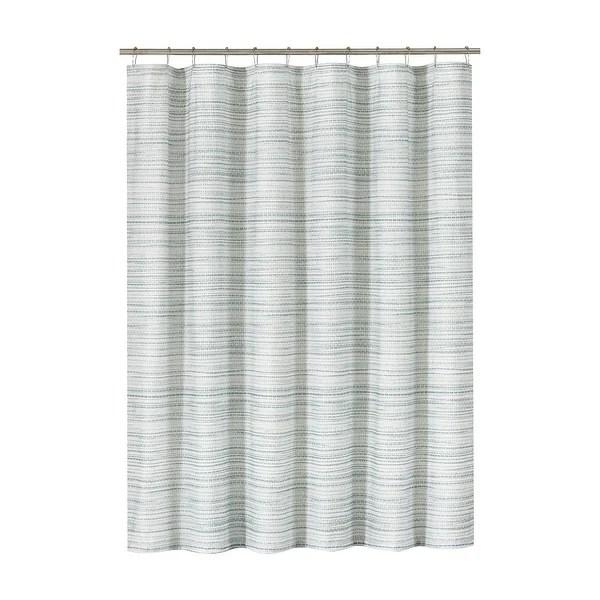 green striped shower curtains find