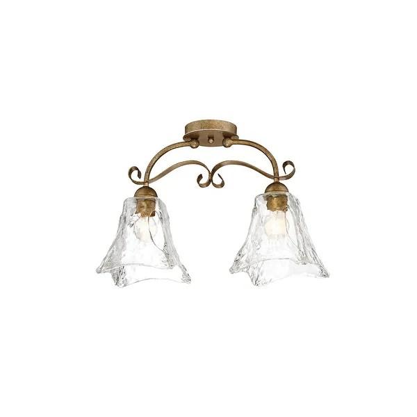 Shop Millennium Lighting 7422 Chatsworth 2-Light 20