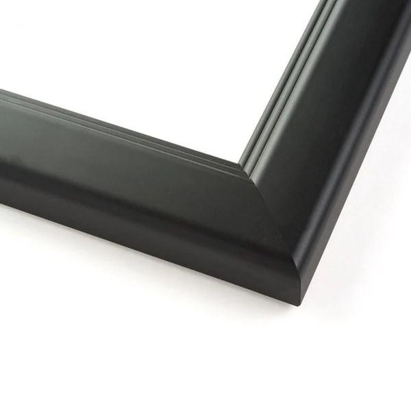 36x16 modern black wood