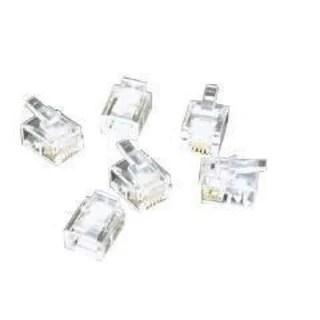 Shop Black Box CAT6 EZ-RJ45 Modular Plugs, 100-Pack