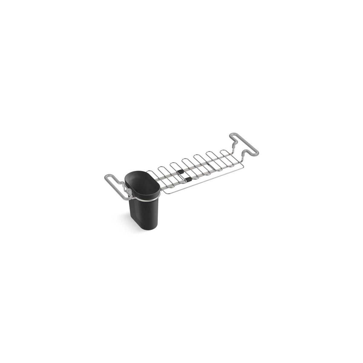 kohler stainless steel sink rack 12 1 4 x 13 3 4 for undertone r and verse tm kitchen sinks stainless steel k 3129 st