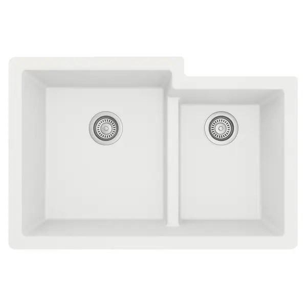 white undermount kitchen sinks shop