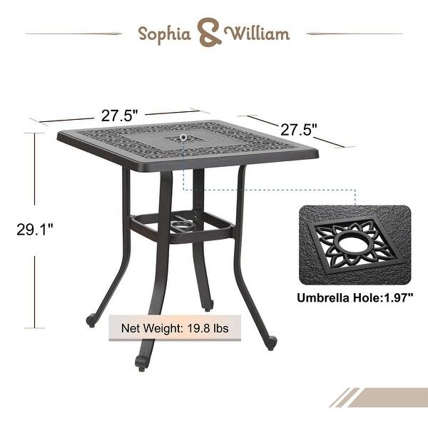 sophia william outdoor patio dining