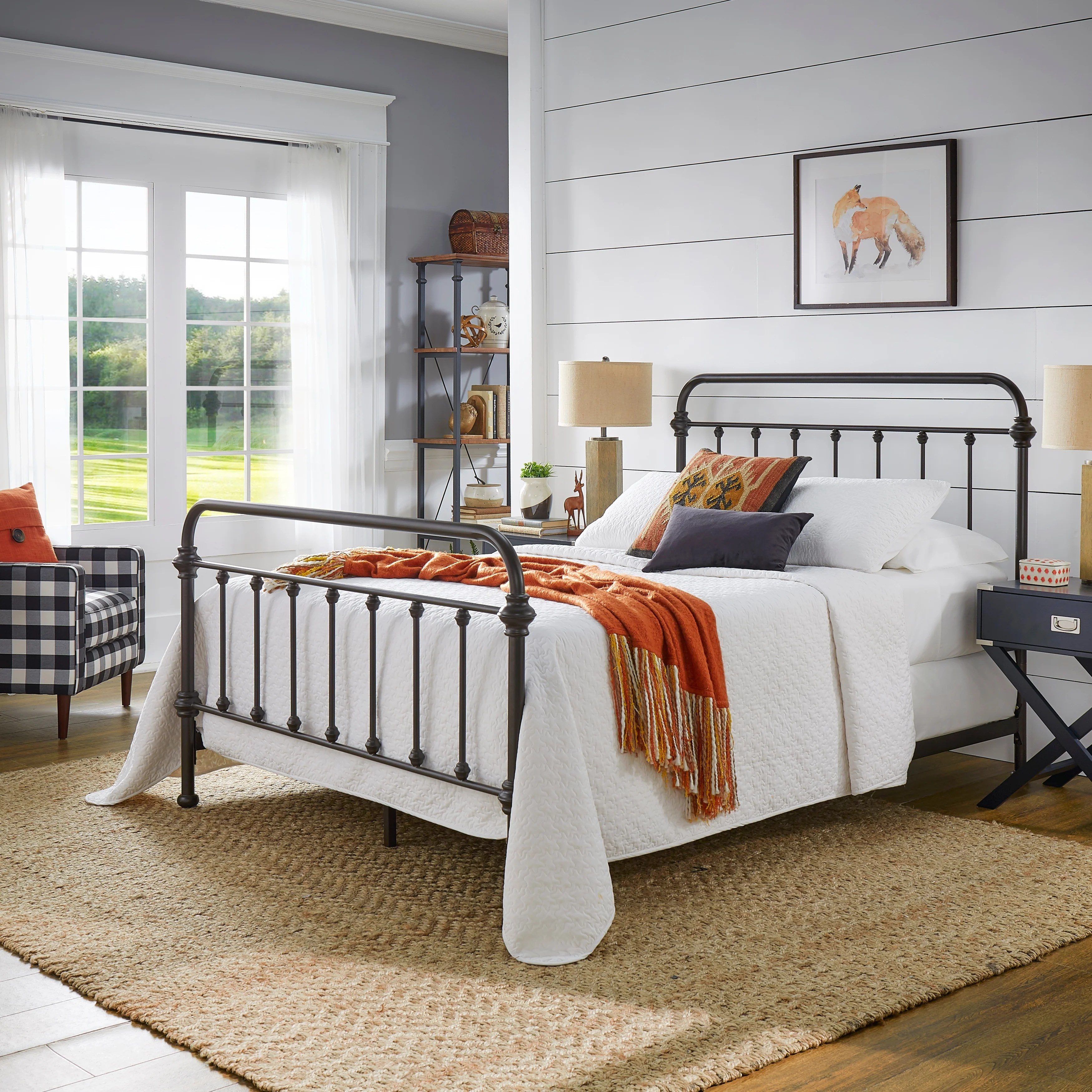 Giselle Antique Graceful Dark Bronze Victorian Iron Bed By Inspire Q Classic On Sale Overstock 7720291