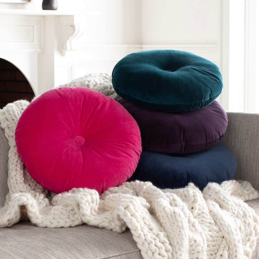buy round pillow covers throw pillows
