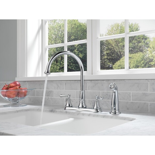 delta 2497lf cassidy kitchen faucet