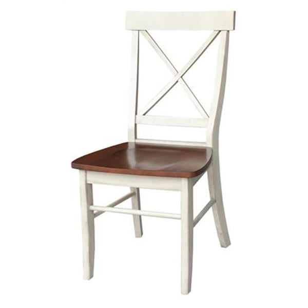 white x back chair boon pedestal high shop international concepts wood with solid free shipping today overstock com 24853483