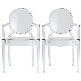 white plastic chairs 4moms high chair target buy kitchen dining room online at overstock com 2xhome set of 2 modern accent with arms armrest stackable home