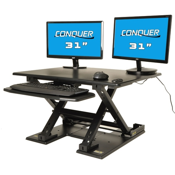 Shop Motorized Standing Desk Electric Sit to Stand