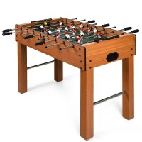 "Shop Gymax 48"" Foosball Table Indoor Soccer Game Table"